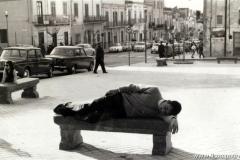Siesta in piazza