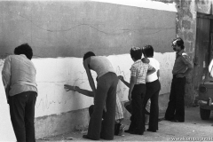 212 preparazione di un murales