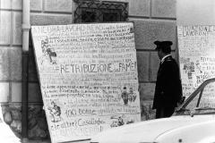 213 1977: un cartellone del gruppo femminile
