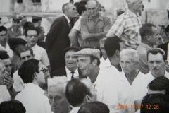 159 Manifestazione 1968 Al centro Larenzu U Spirdatu