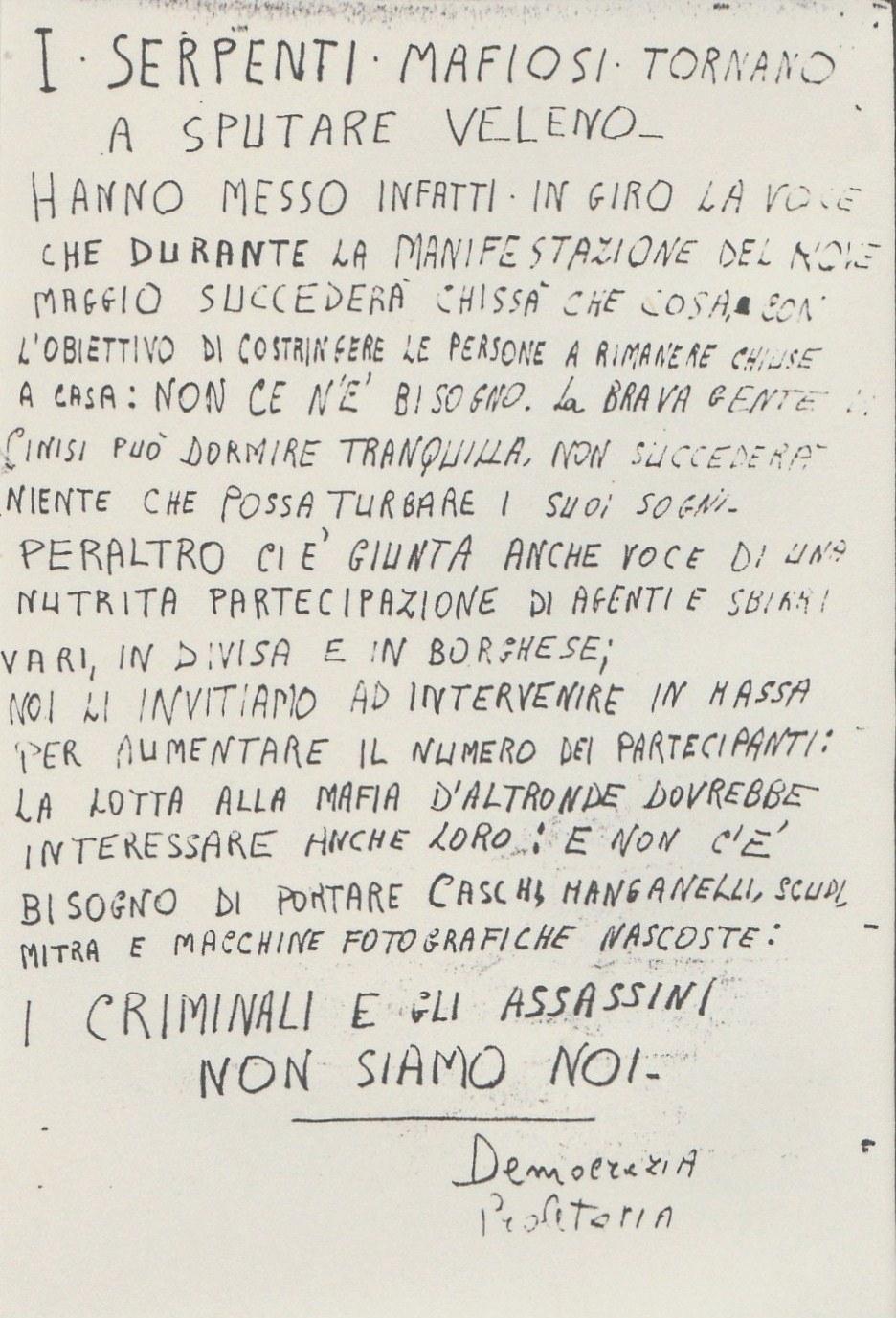 1979 I serpenti mafiosi
