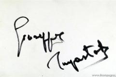 Autografo sul retro della foto