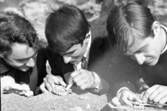 144 Molinazzo: pulitura delle conchiglie