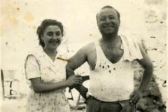 Luigi Impastato e la sorella