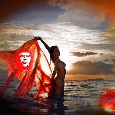 Bandiera, donna e Che_n