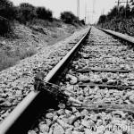 Luogo sulla linea ferroviaria Palermo-Trapani dove Peppino venne fatto esplodere © MAFEBA/AGF