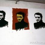 Cinisi, un murales in fase di realizzazione per ricordare Peppino © MAFEBA/AGF