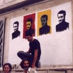 Murales dedicato a Peppino a Cinisi