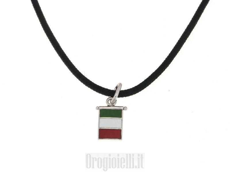 Collana_con_bandiera_dell'ITALIA_vendita_oro_gioielli_bigiotteria_a_prezzi_imbattibili_271214541_Large