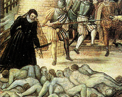 Il-massacro-di-San-Bartolomeo-dettaglio-dipinto-di-Dubois-1576-circa