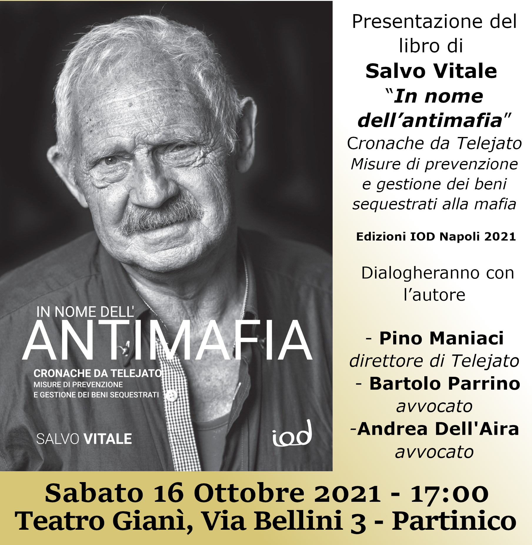 locandina IN NOME DELL'ANTIMAFIA